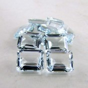 5.70 Cts. Aquamarine 12x10mm Octagon Shape Gemstone Parcel (1 Pcs.)