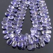 Iolite 10-12mm Pear Shape Briolette Strand