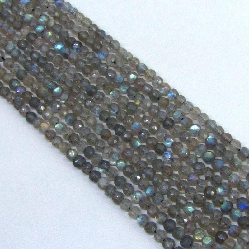 Labradorite 3.5mm Round Shape Bead Strands
