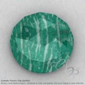 Amazonite Round Shape Calibrated Cabochons