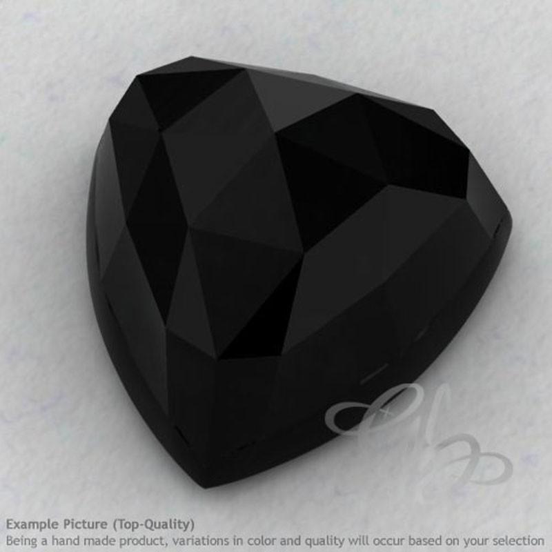 Black Onyx Trillion Shape Calibrated Cabochons