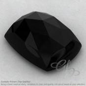 Black Onyx Cushion Shape Calibrated Cabochons