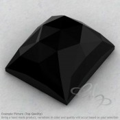Black Onyx Baguette Shape Calibrated Cabochons