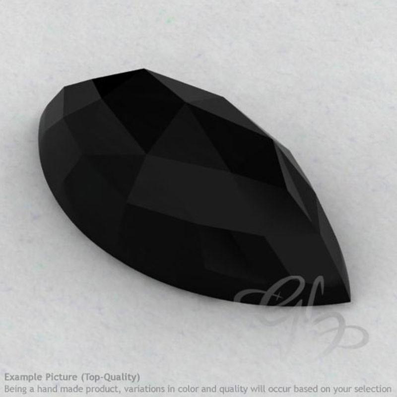 Black Onyx Marquise Shape Calibrated Cabochons