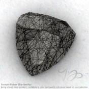 Black Rutile Trillion Shape Calibrated Cabochons