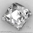 Crystal Quartz Square Shape Calibrated Cabochons