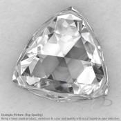 Crystal Quartz Trillion Shape Calibrated Cabochons