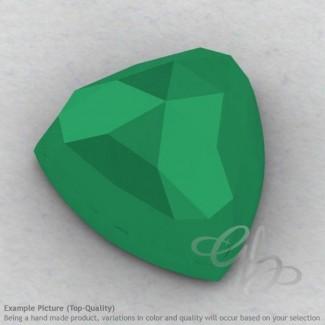 Green Onyx Trillion Shape Calibrated Cabochons