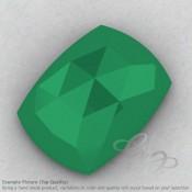 Green Onyx Cushion Shape Calibrated Cabochons
