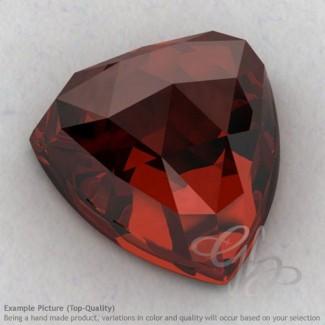 Garnet Trillion Shape Calibrated Cabochons