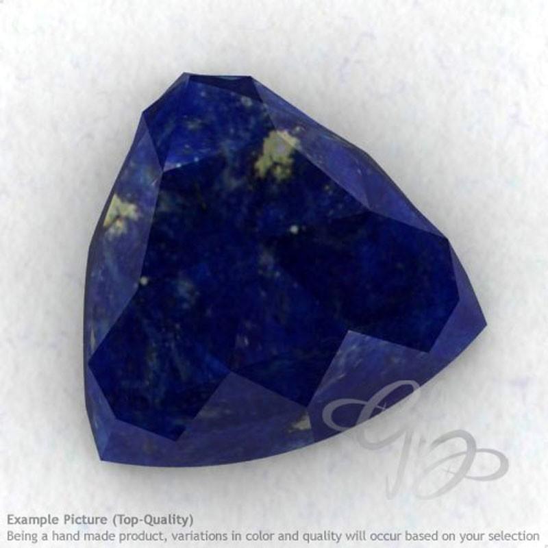 Lapis Lazuli Trillion Shape Calibrated Cabochons