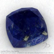 Lapis Lazuli Square Cushion Shape Calibrated Cabochons