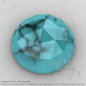 Turquoise Round Shape Calibrated Cabochons