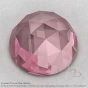 Rose Quartz Round Shape Calibrated Cabochons