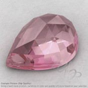 Rose Quartz Pear Shape Calibrated Cabochons