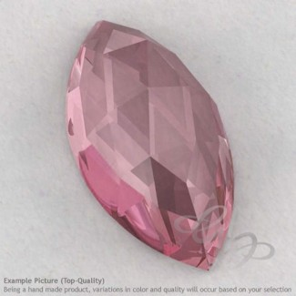 Rose Quartz Marquise Shape Calibrated Cabochons