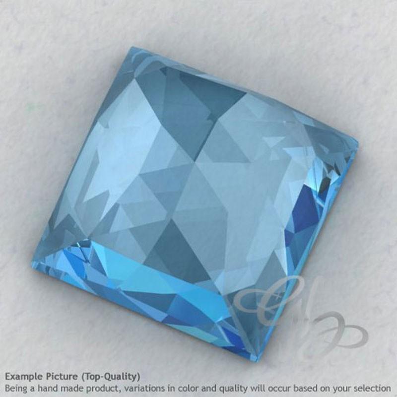Sky Blue Topaz Square Shape Calibrated Cabochons