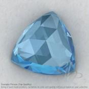 Sky Blue Topaz Trillion Shape Calibrated Cabochons