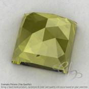 Olive Quartz Square Shape Calibrated Cabochons