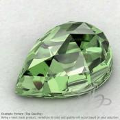 Green Amethyst Pear Shape Calibrated Cabochons