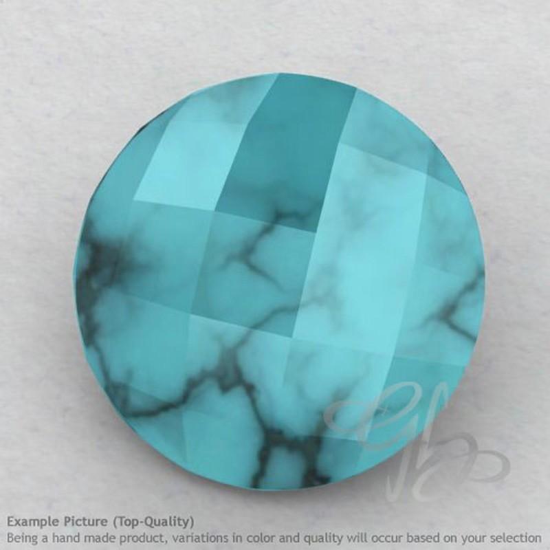 Turquoise Round Shape Calibrated Briolettes