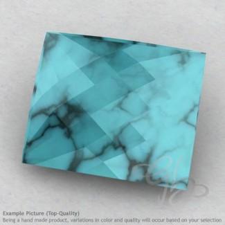 Turquoise Baguette Shape Calibrated Briolettes