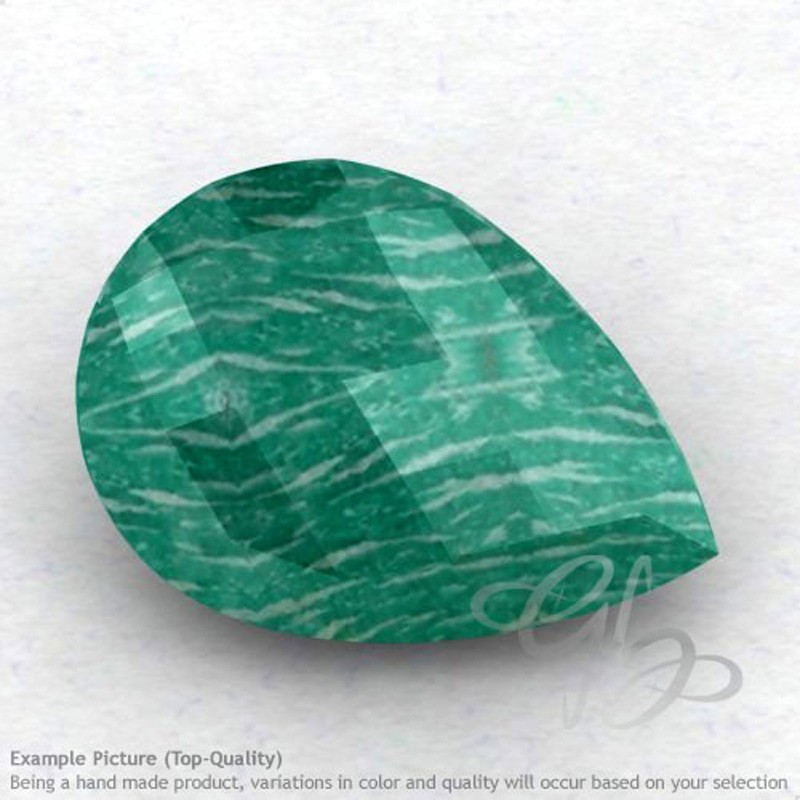 Amazonite Pear Shape Calibrated Briolettes