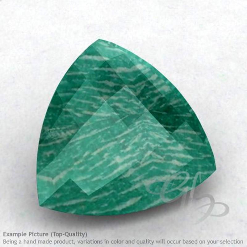 Amazonite Trillion Shape Calibrated Briolettes