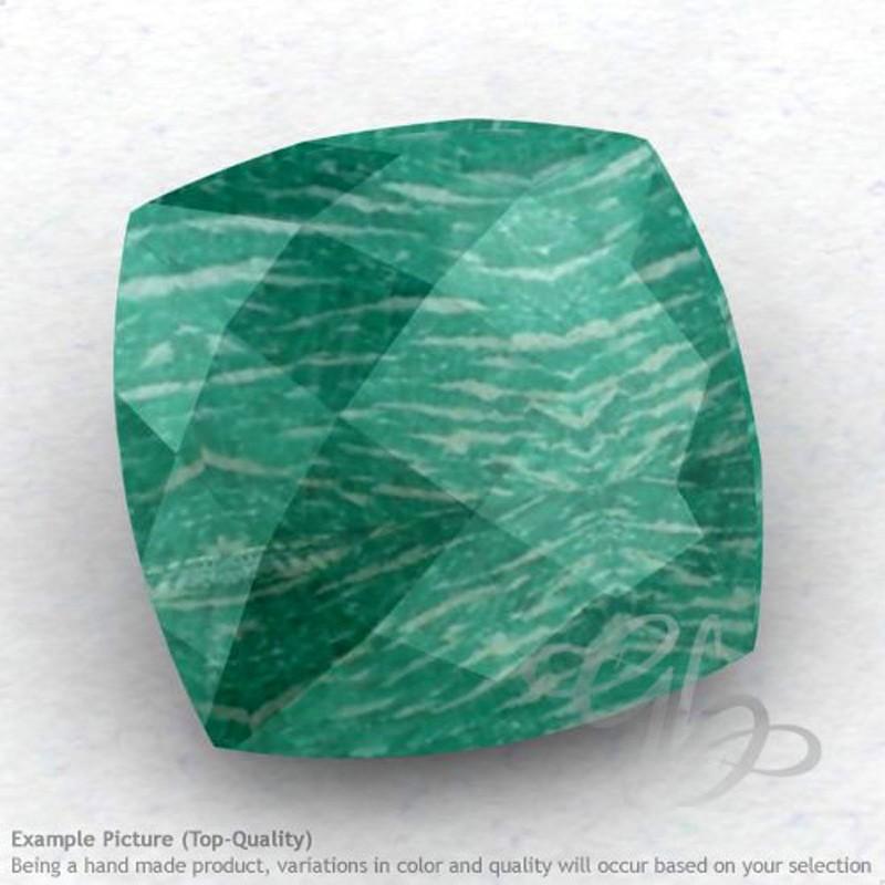 Amazonite Square Cushion Shape Calibrated Briolettes