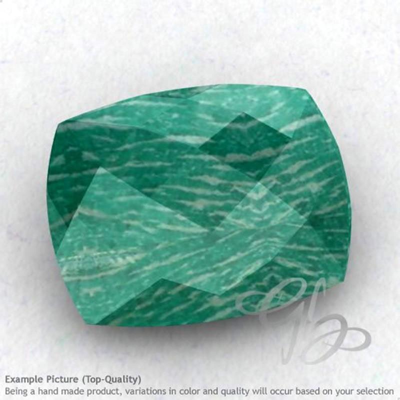 Amazonite Cushion Shape Calibrated Briolettes