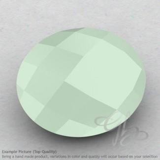 Aqua Chalcedony Oval Shape Calibrated Briolettes