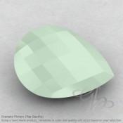 Aqua Chalcedony Pear Shape Calibrated Briolettes