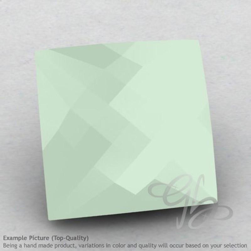 Aqua Chalcedony Square Shape Calibrated Briolettes