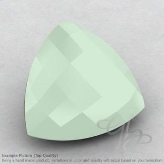 Aqua Chalcedony Trillion Shape Calibrated Briolettes