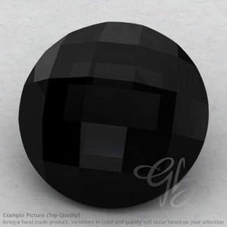 Black Onyx Round Shape Calibrated Briolettes