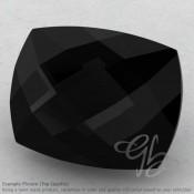 Black Onyx Cushion Shape Calibrated Briolettes