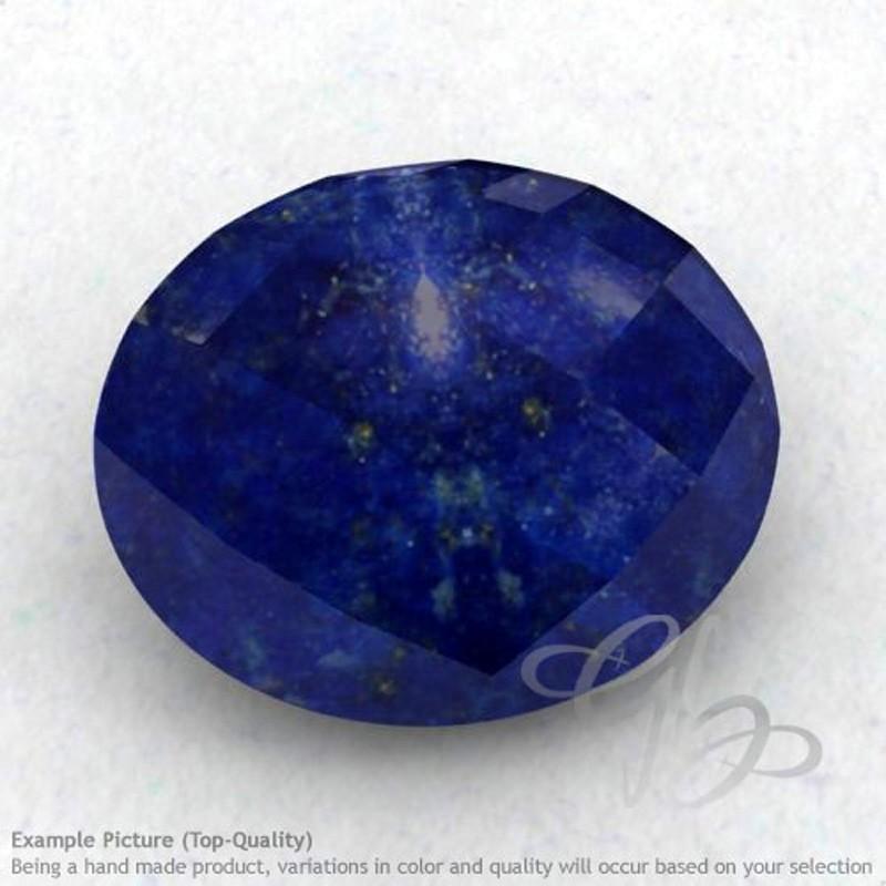 Lapis Lazuli Oval Shape Calibrated Briolettes