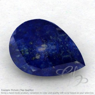 Lapis Lazuli Pear Shape Calibrated Briolettes
