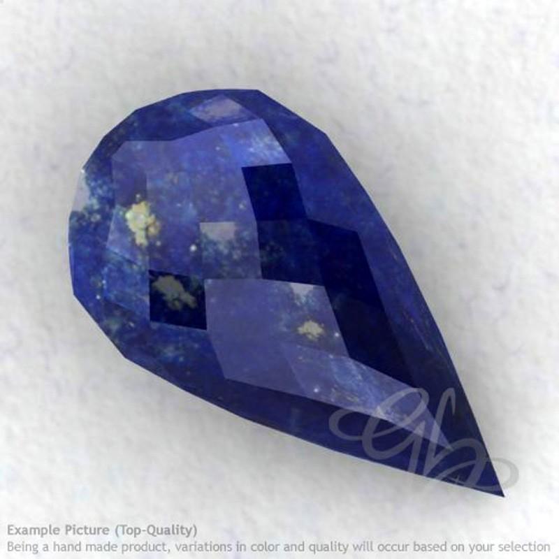 Lapis Lazuli Drops Shape Calibrated Briolettes