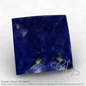 Lapis Lazuli Square Shape Calibrated Briolettes