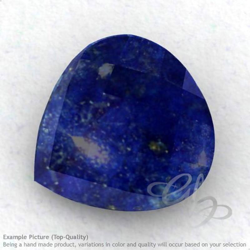 Lapis Lazuli Heart Shape Calibrated Briolettes