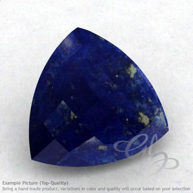Lapis Lazuli Trillion Shape Calibrated Briolettes