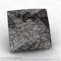 Black Rutile Square Shape Calibrated Briolettes
