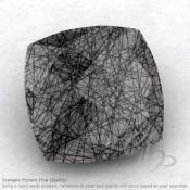 Black Rutile Square Cushion Shape Calibrated Briolettes
