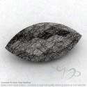 Black Rutile Marquise Shape Calibrated Briolettes