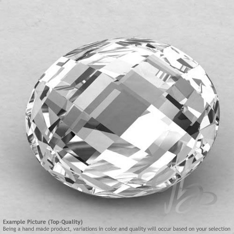 Crystal Quartz Oval Shape Calibrated Briolettes