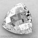 Crystal Quartz Trillion Shape Calibrated Briolettes