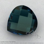 London Blue Topaz Heart Shape Calibrated Briolettes