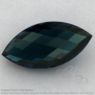 London Blue Topaz Marquise Shape Calibrated Briolettes