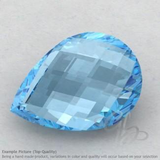 Sky Blue Topaz Pear Shape Calibrated Briolettes